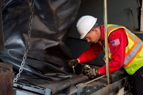 Loading dock repair services from Miner