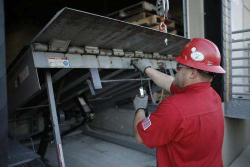 Loading dock service from MINER.